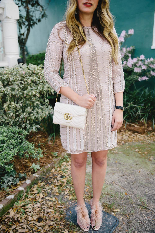 parker beaded dress in charleston | the stripe