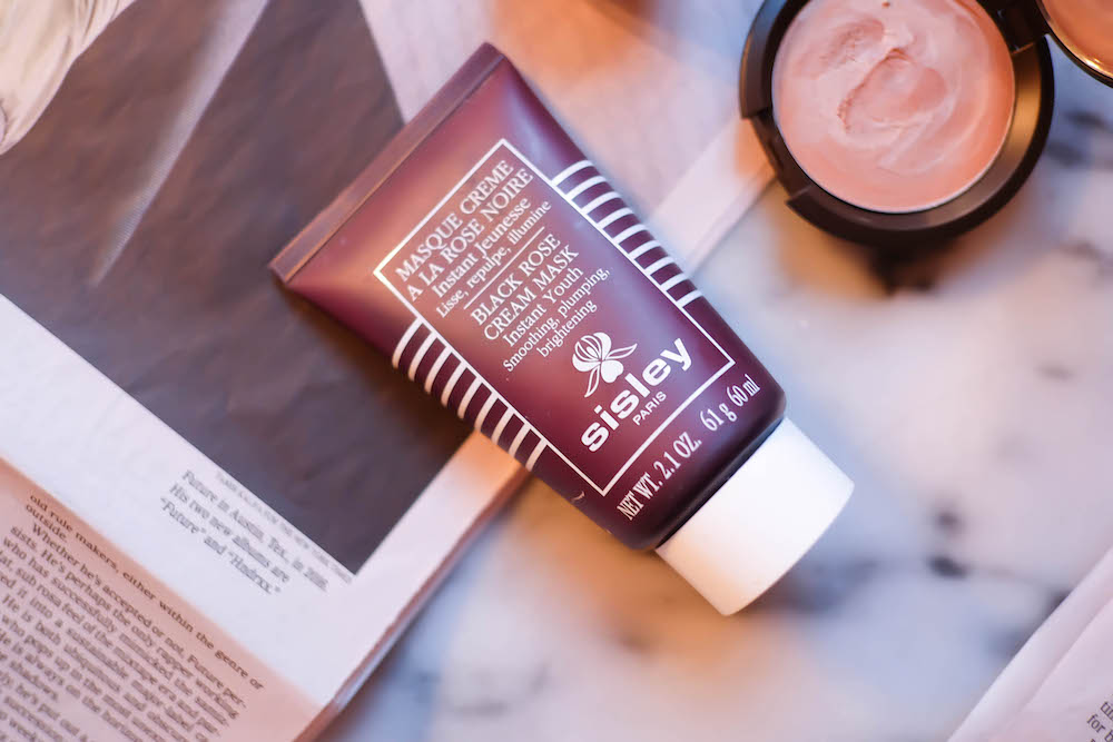 sisley black rose cream face mask review | the stripe