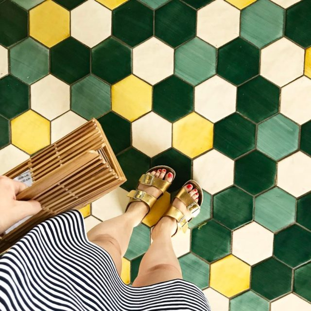 ihavethisthingwithfloors That green We made it safe and sound tohellip