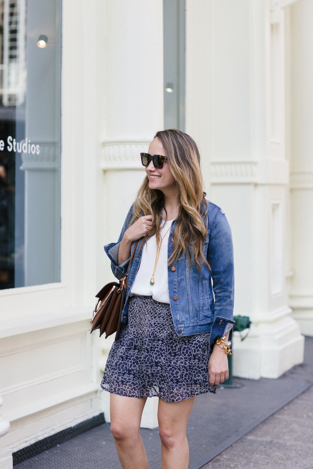 easy blue and white look for Spring | The Stripe