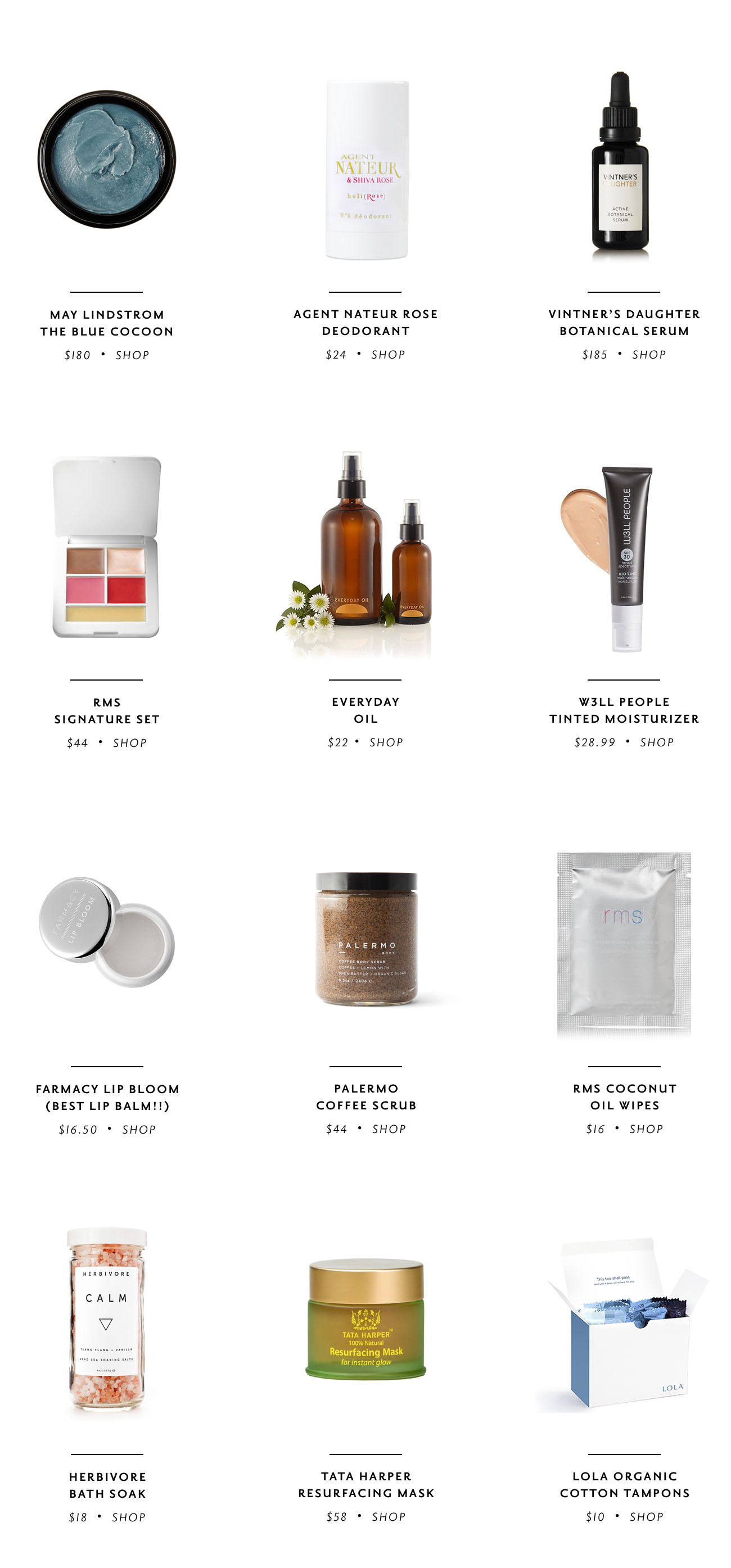earth day beauty | the 12 best natural beauty products - the stripe blog