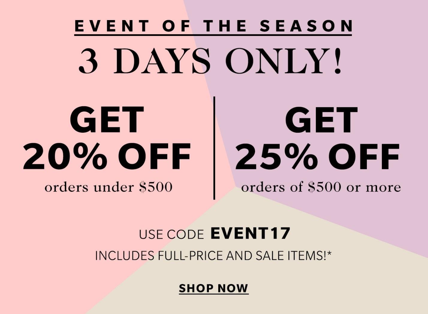 shopbop sale spring 2017 | the stripe