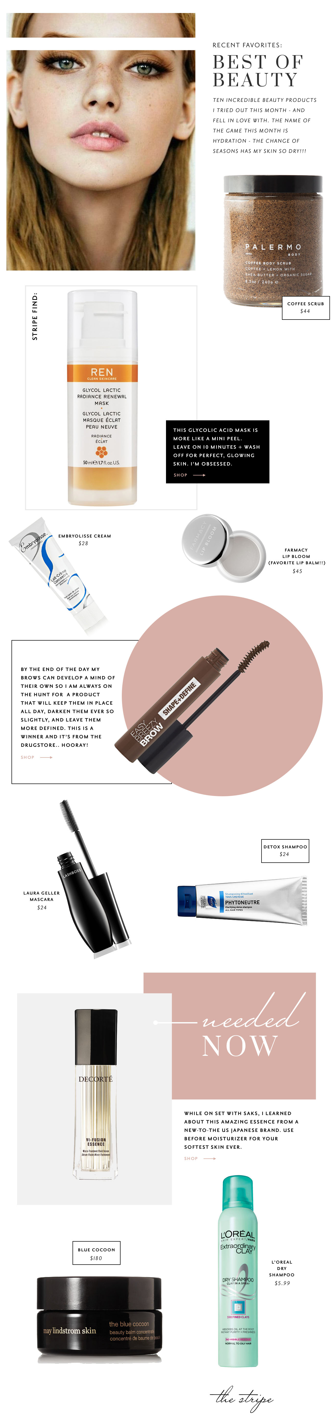 best new beauty products spring 2017 | the stripe