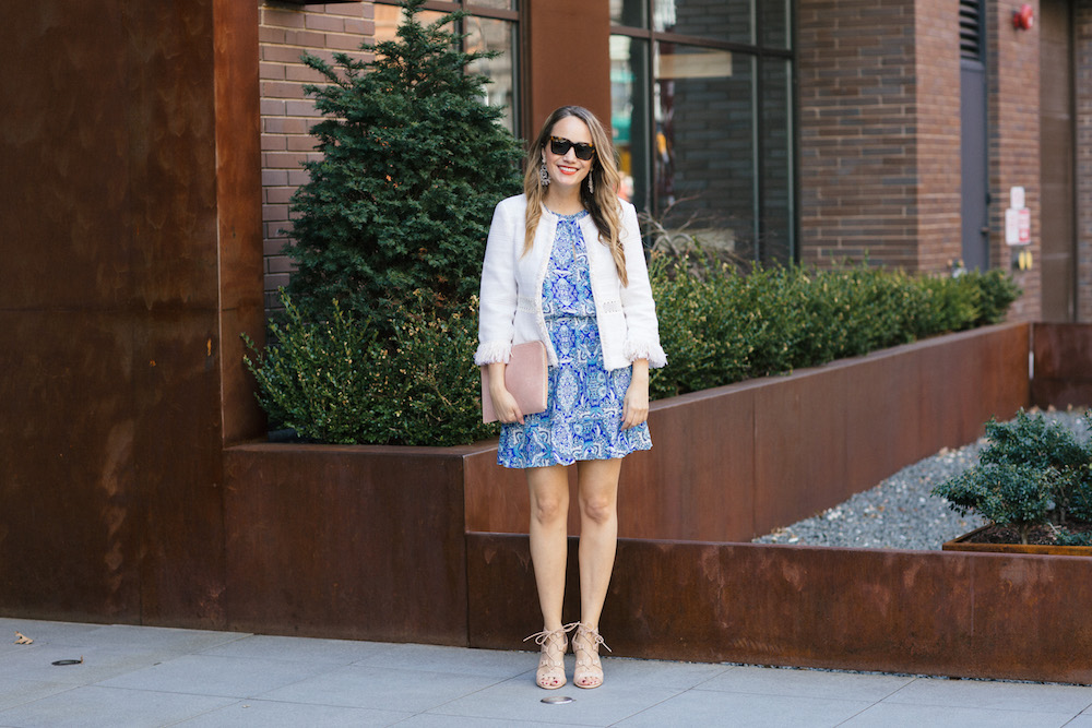 spring style with T.J. Maxx | grace atwood, the stripe