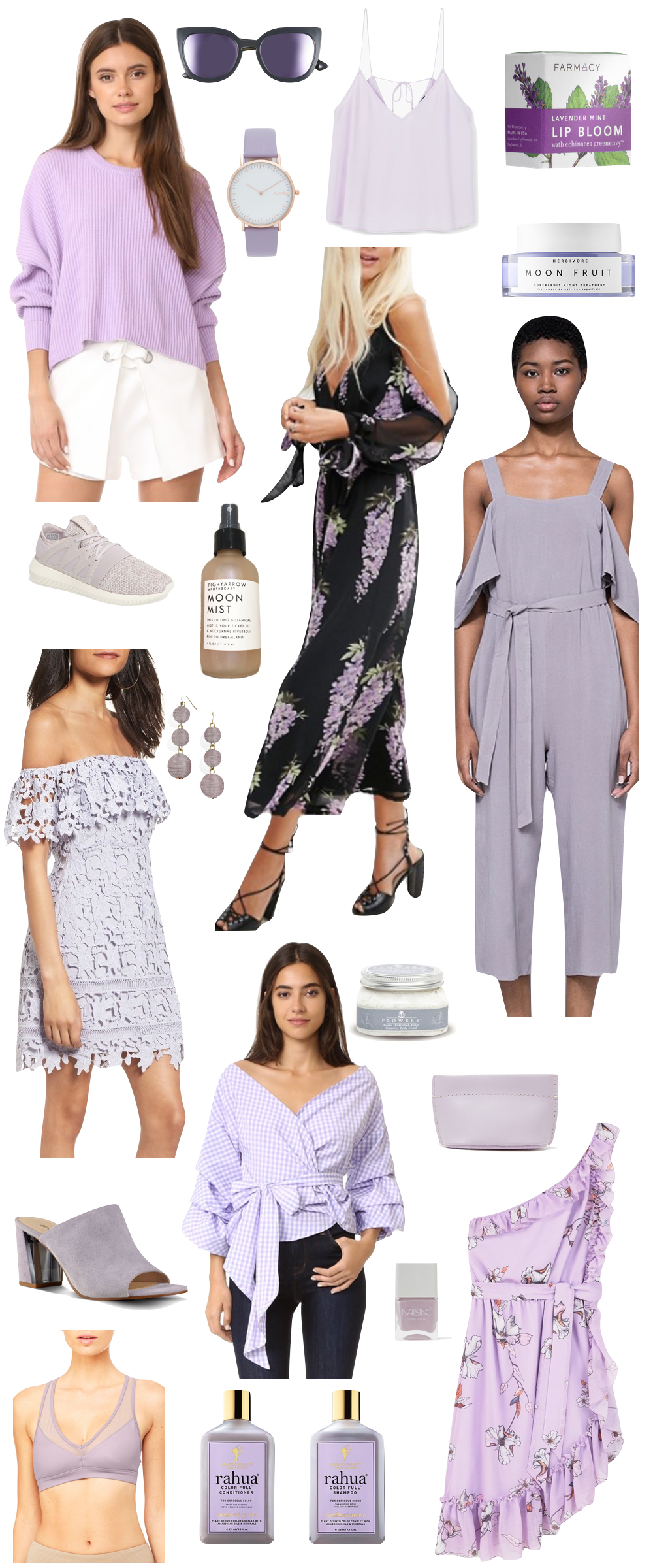 affordable lilac + lavender pieces for under $100 | the stripe