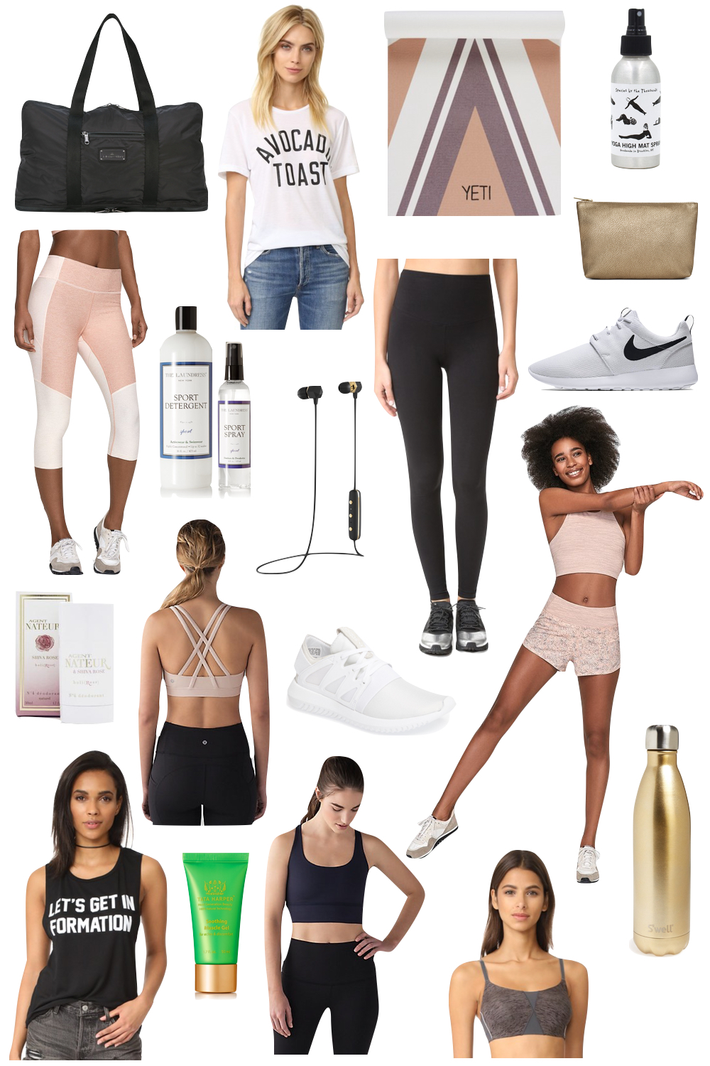 kelly's chic under $100: affordable activewear - the stripe