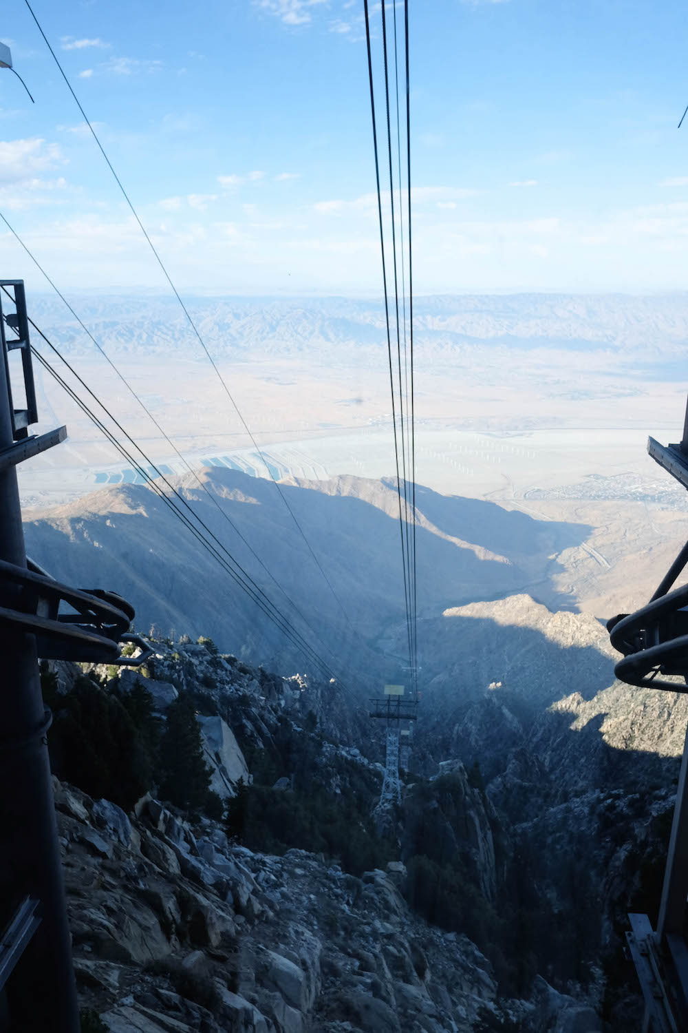 palm springs travel guide - the stripe; palm springs tram
