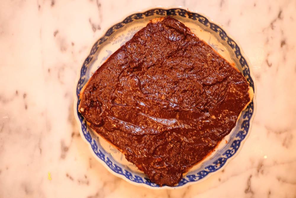 chocolate upside down cake recipe | the stripe