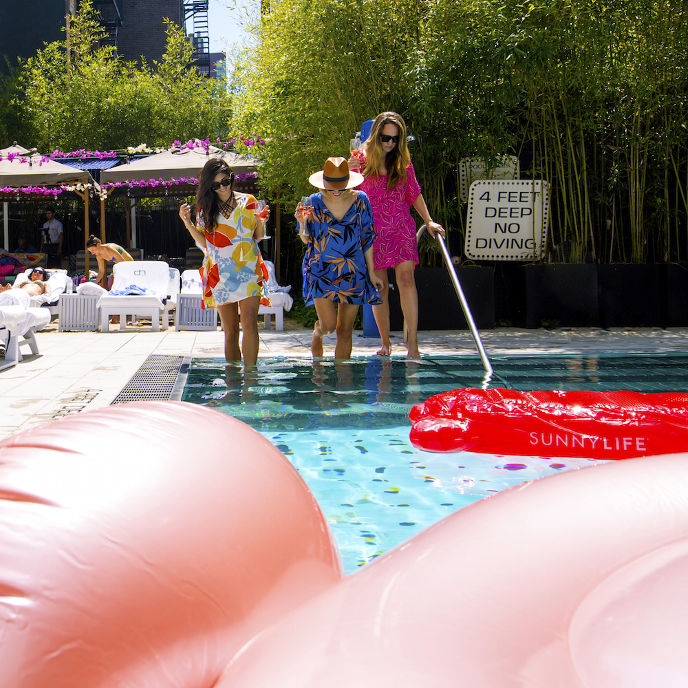 cooper & ella x dream hotels   swim cover-ups   grace atwood, the stripe