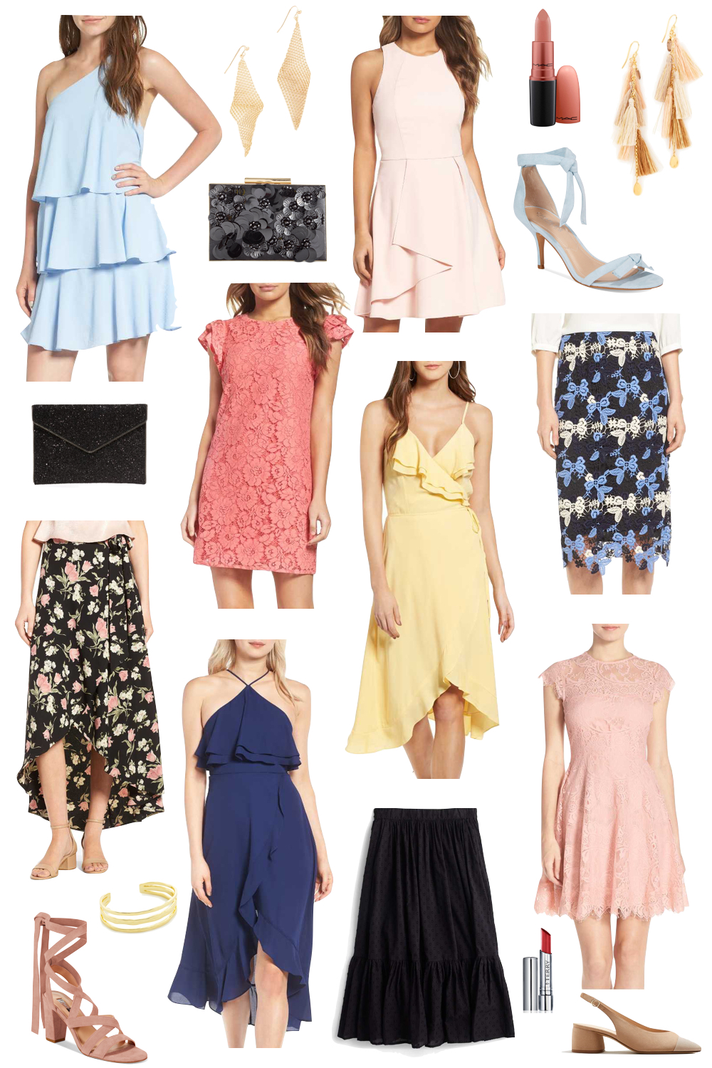 best wedding guest style for under $100 | the stirpe