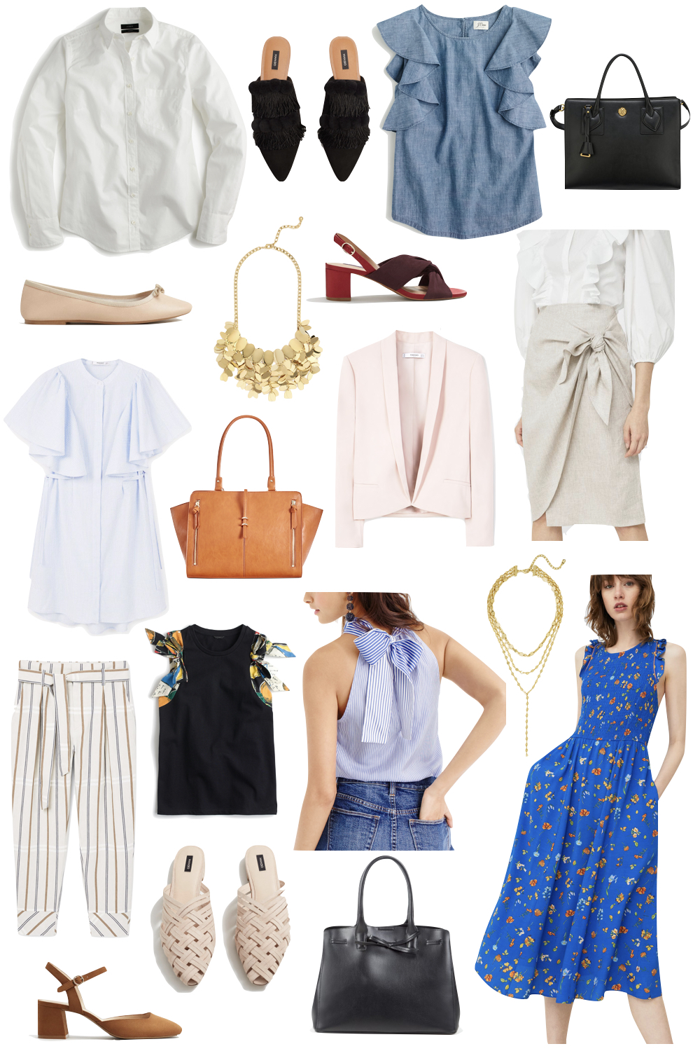 summer office style under $100 | the stripe
