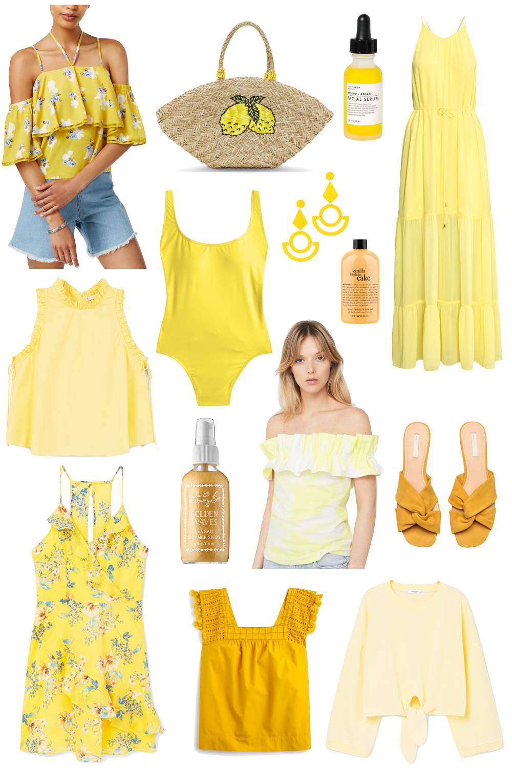 the best yellow pieces under $100   the stripe