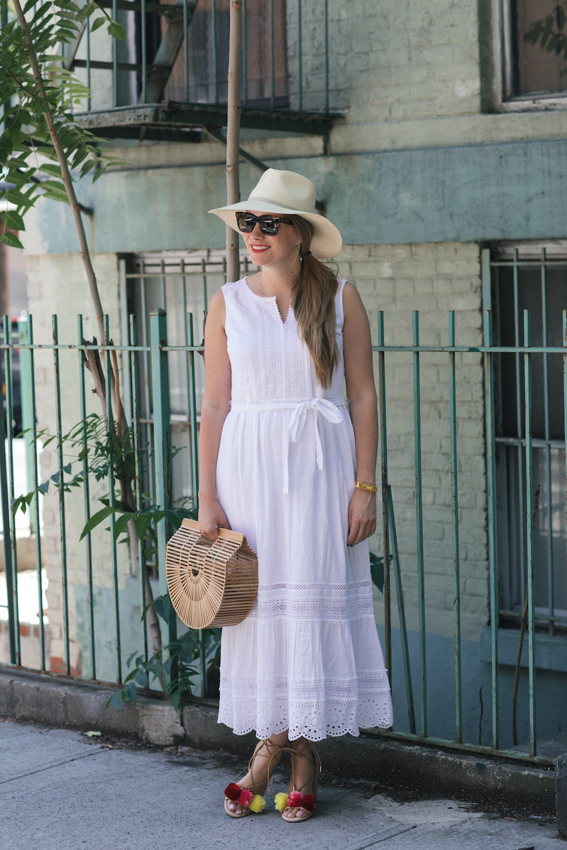 summer white dresses under $100 | the stripe