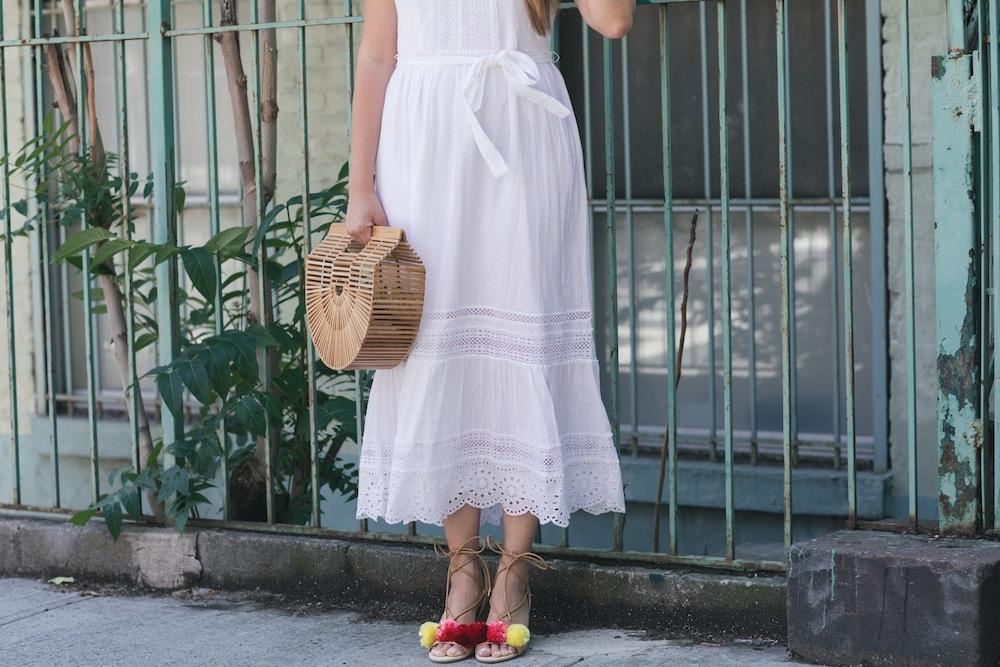 summer white dresses under $100   the stripe