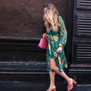Floral Midi Dress.