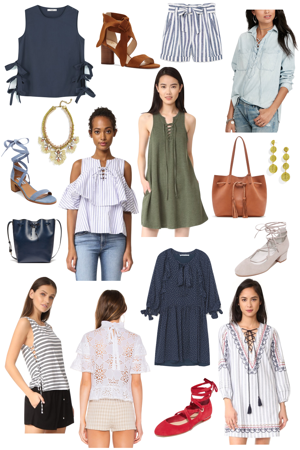 kelly's chic under $100 | all tied up | the stripe blog - affordable fashion