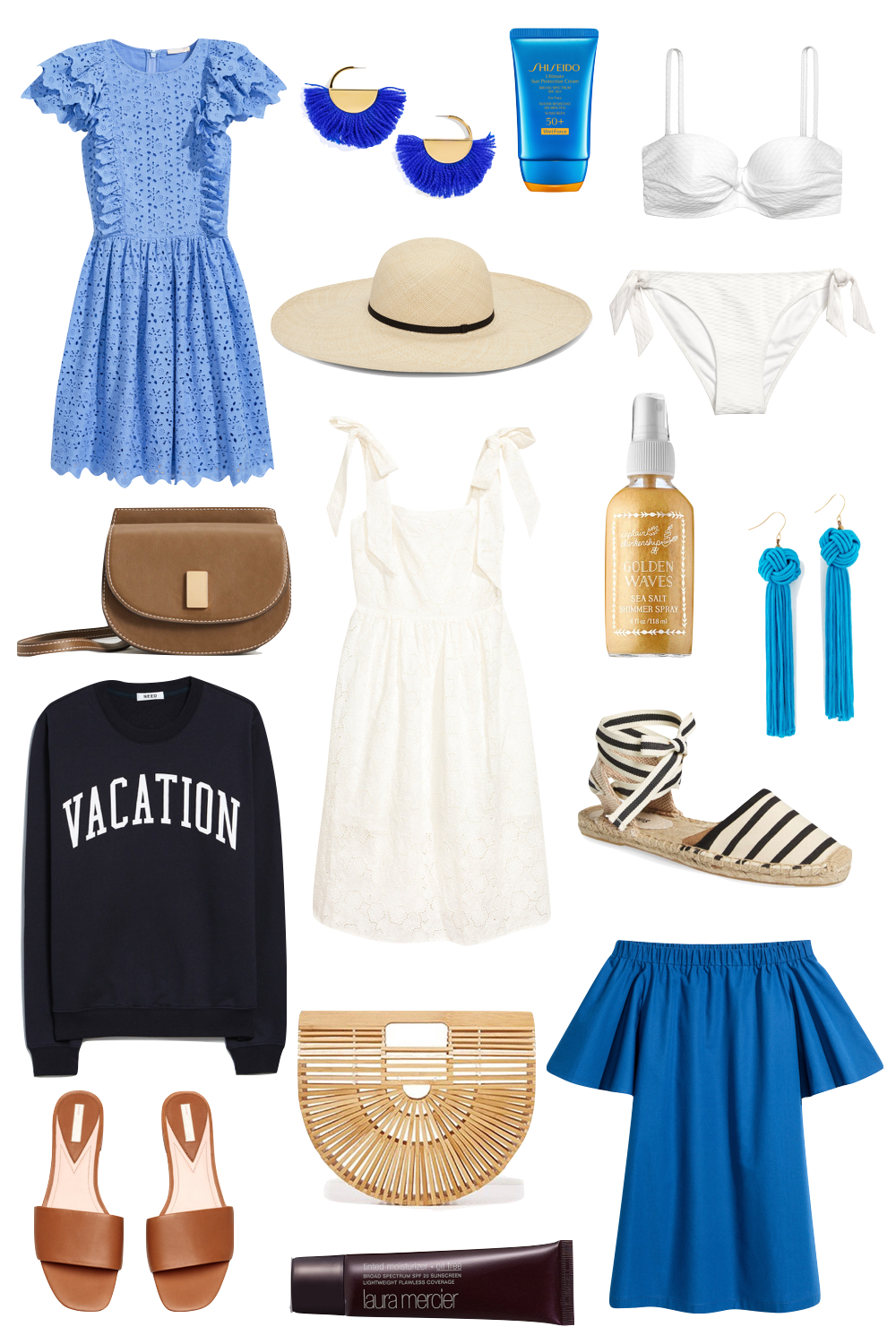affordable vacation outfit ideas | the stripe