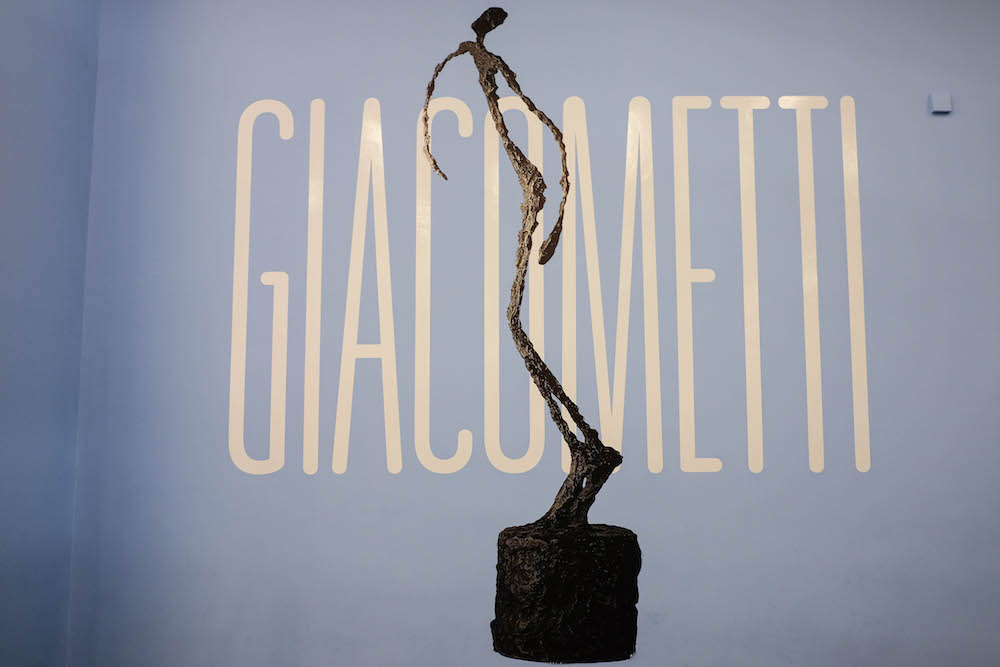 london travel diary - the stripe - giacometti exhibit at the tate modern