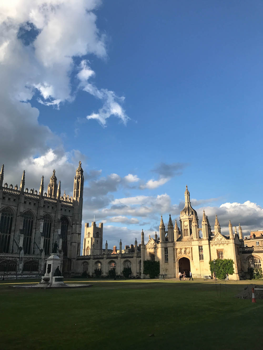london travel diary - the stripe - cambridge
