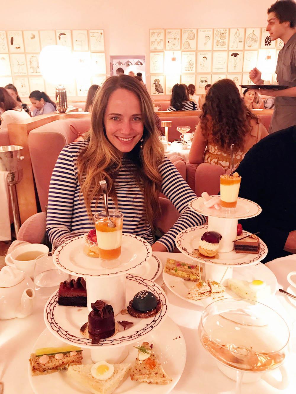 london travel diary - the stripe - sketch london for tea