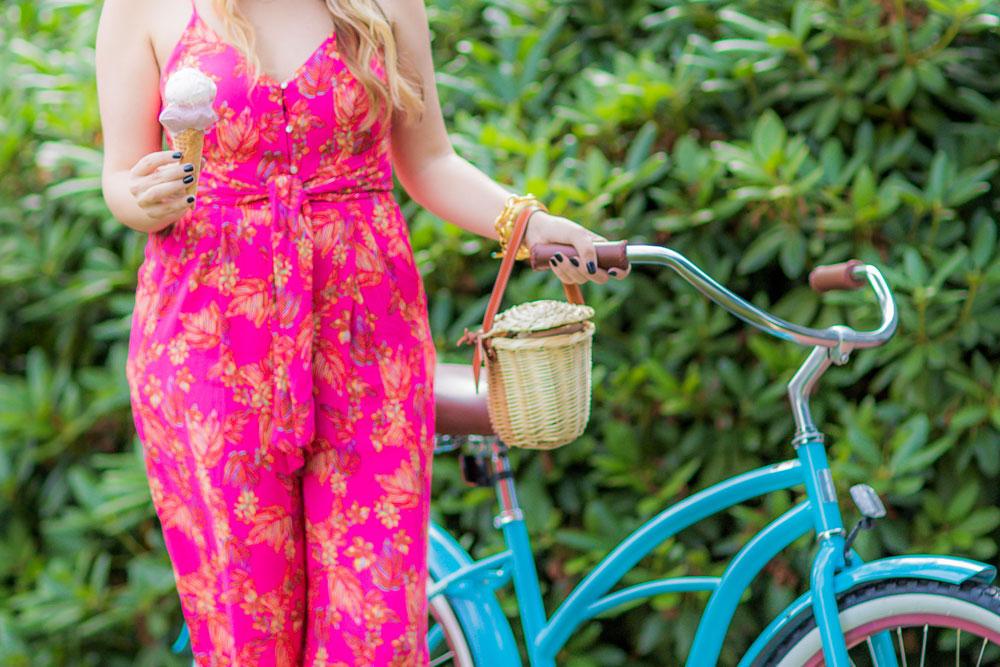 free people hot tropics jumpsuit | the stripe