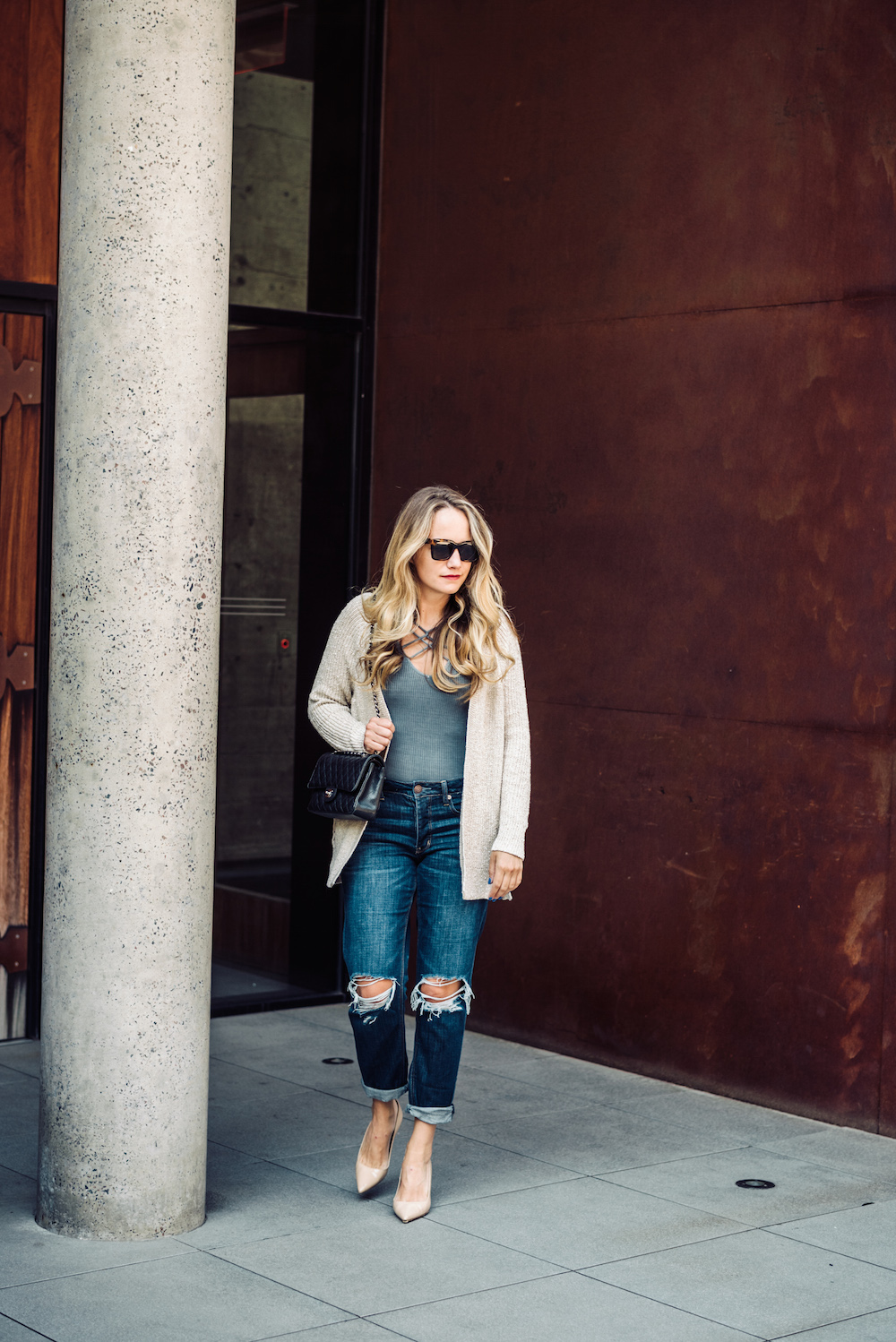 the best cozy fall basics // grace atwood, the stripe