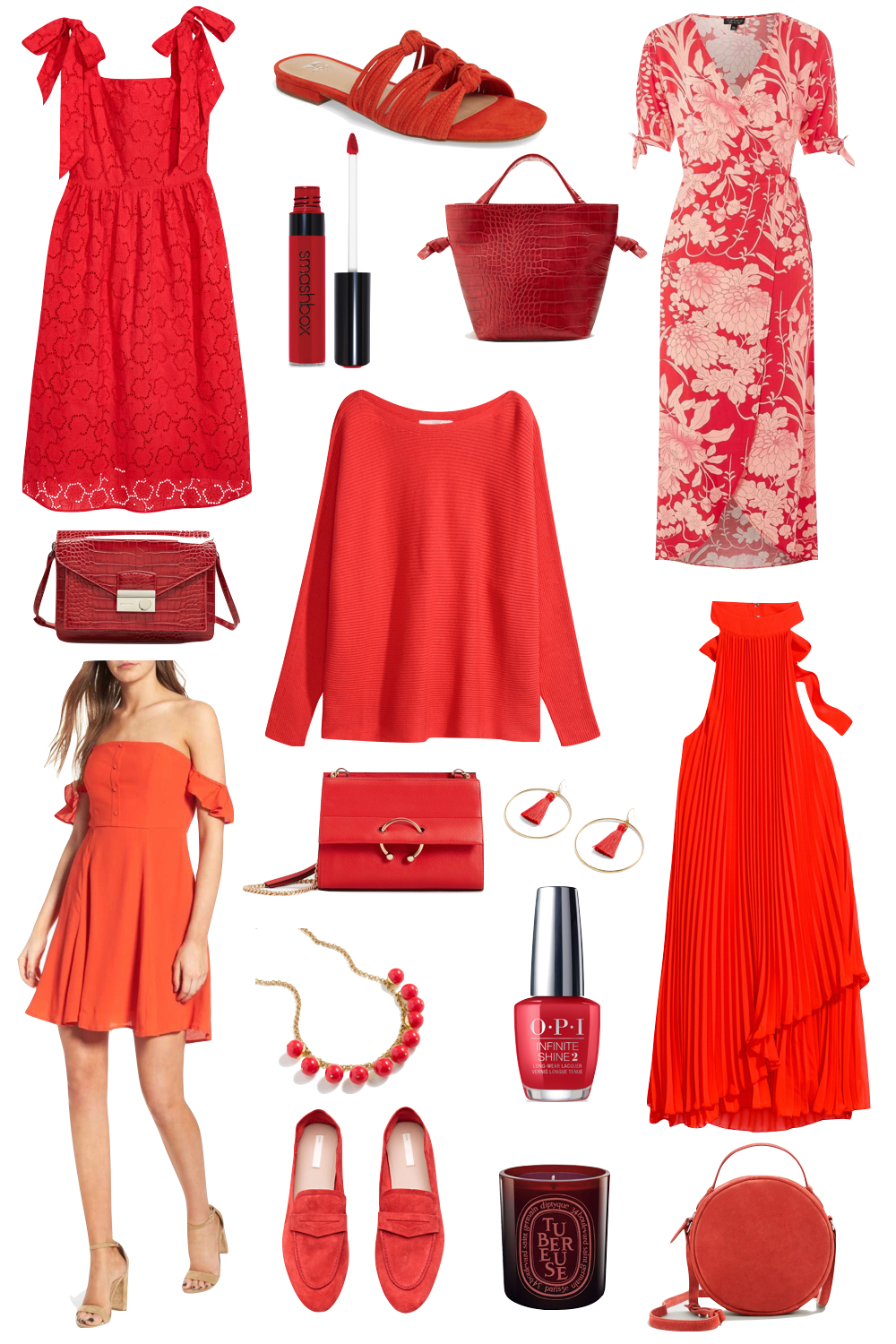 kelly's chic under $100: red hot | the stripe