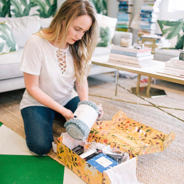 fabfitfunpartner so excited to share fabfitfuns Fall box with you!hellip