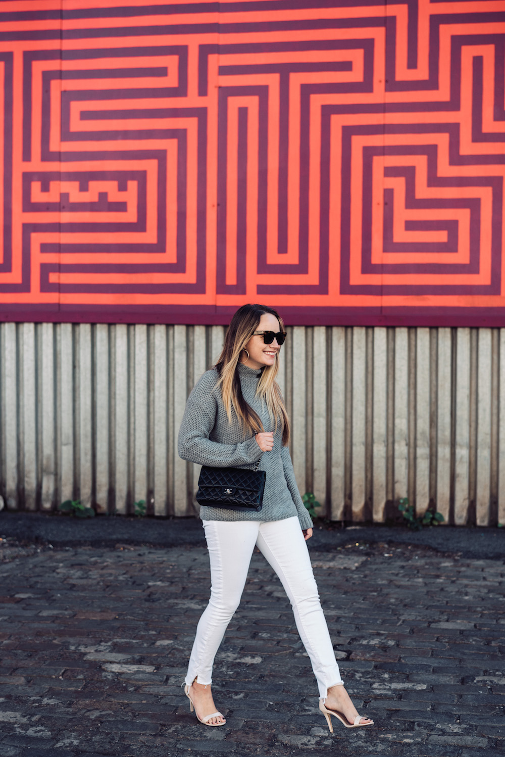 aether luxe sweater | grace atwood, the stripe