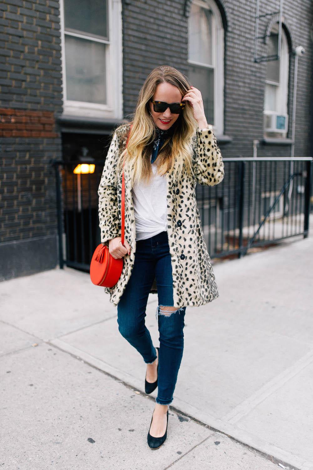 j.mclaughlin pella leopard coat | grace atwood, the stripe