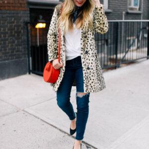 My Favorite Leopard Coat.