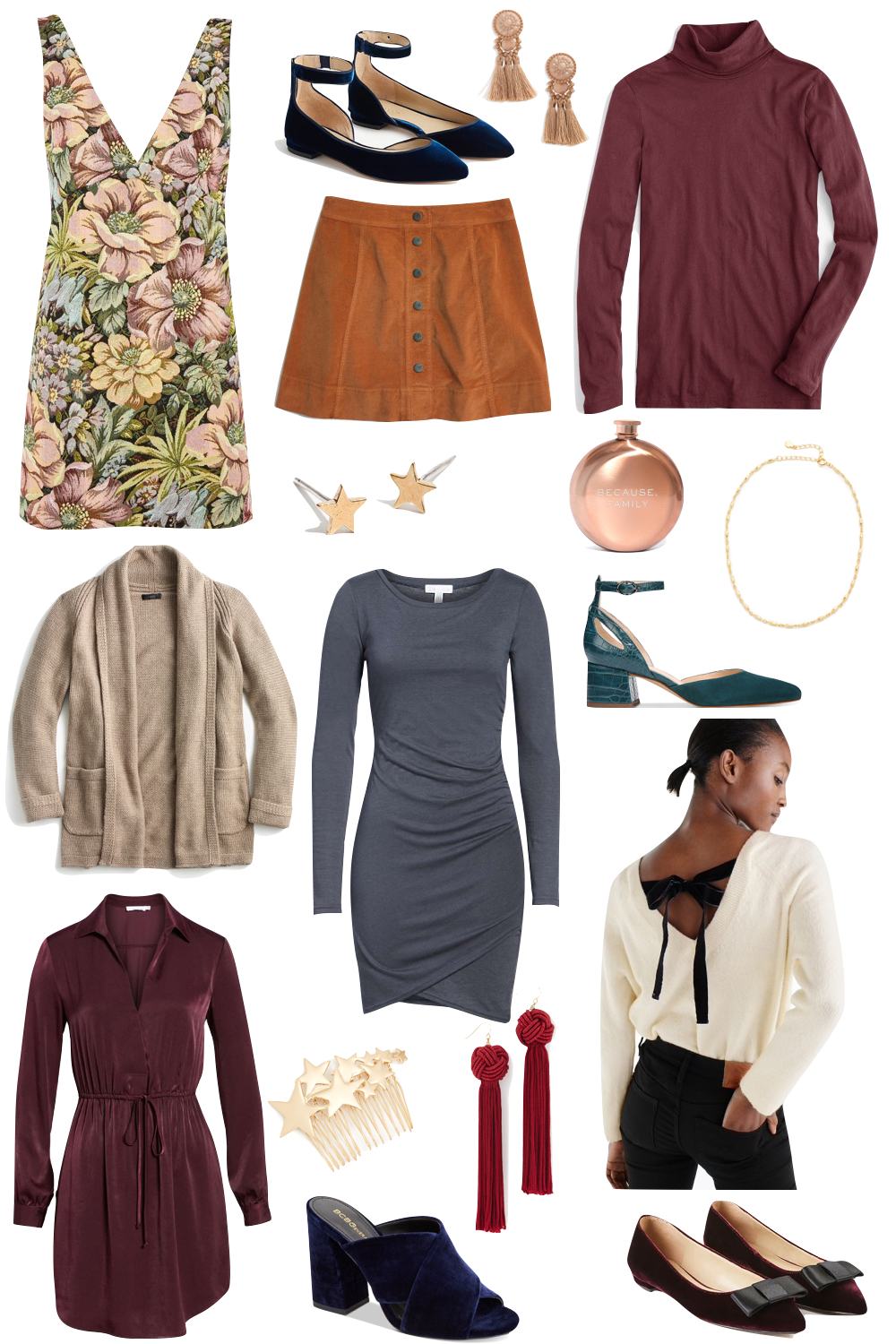 thanksgiving outfit ideas! Kelly's Chic Under $100 | the Stripe