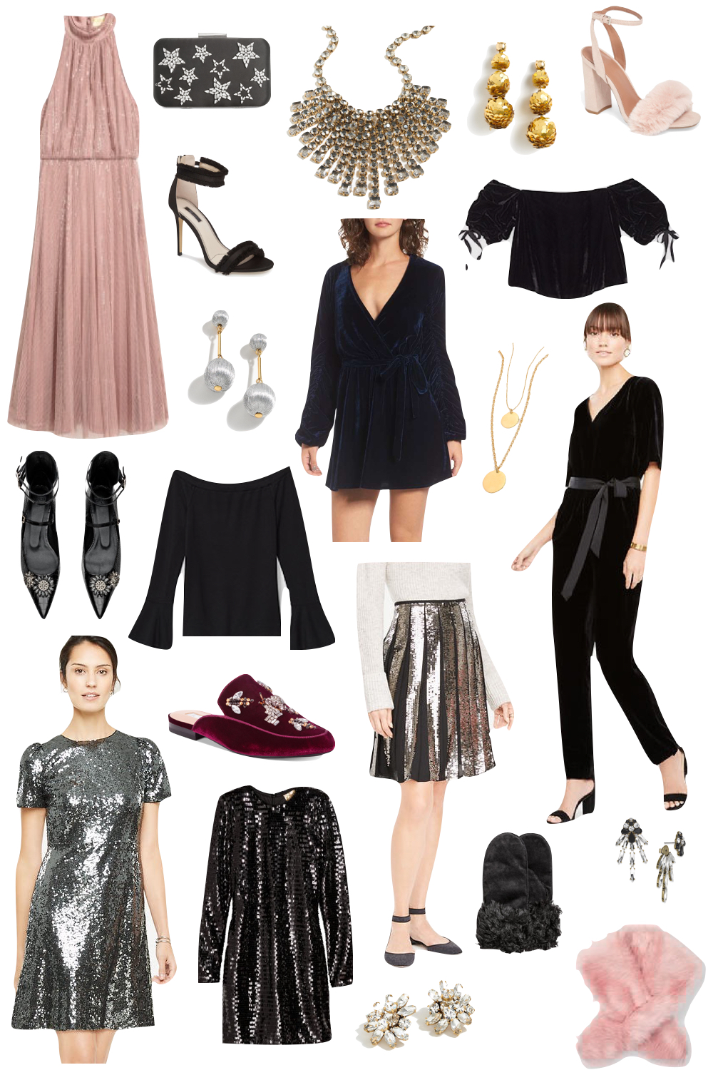 New Year's Eve Style Under $100 | The Stripe