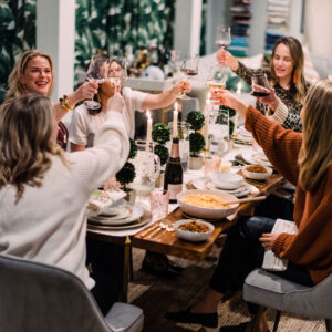 A Southern Inspired Holiday Dinner Party.