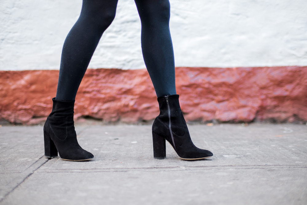 Express Opaque Tights, Club Monaco Boots