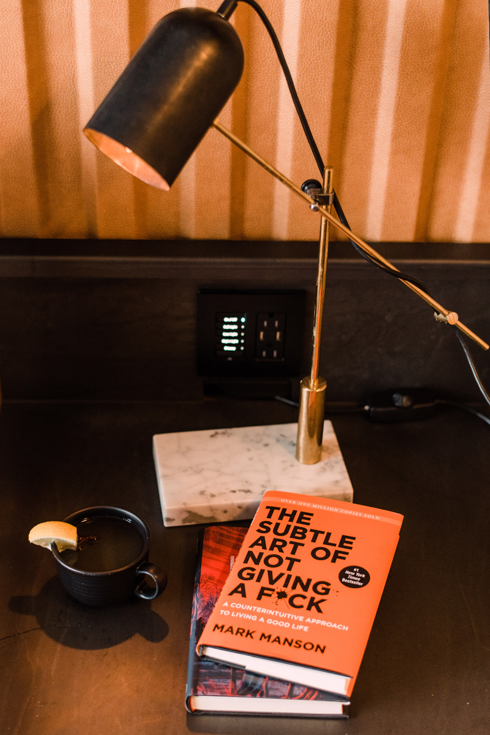January 2018 Reading List | The Stripe | The Subtle Art of Not Giving a F*ck.