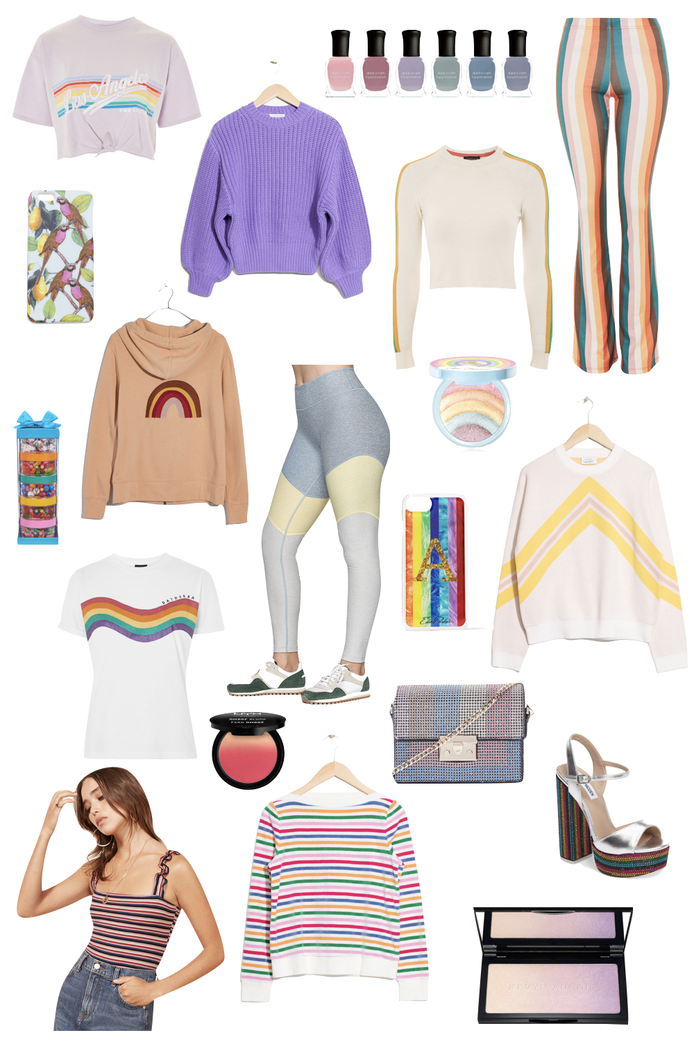 Rainbow Pieces under $100 | The Stripe
