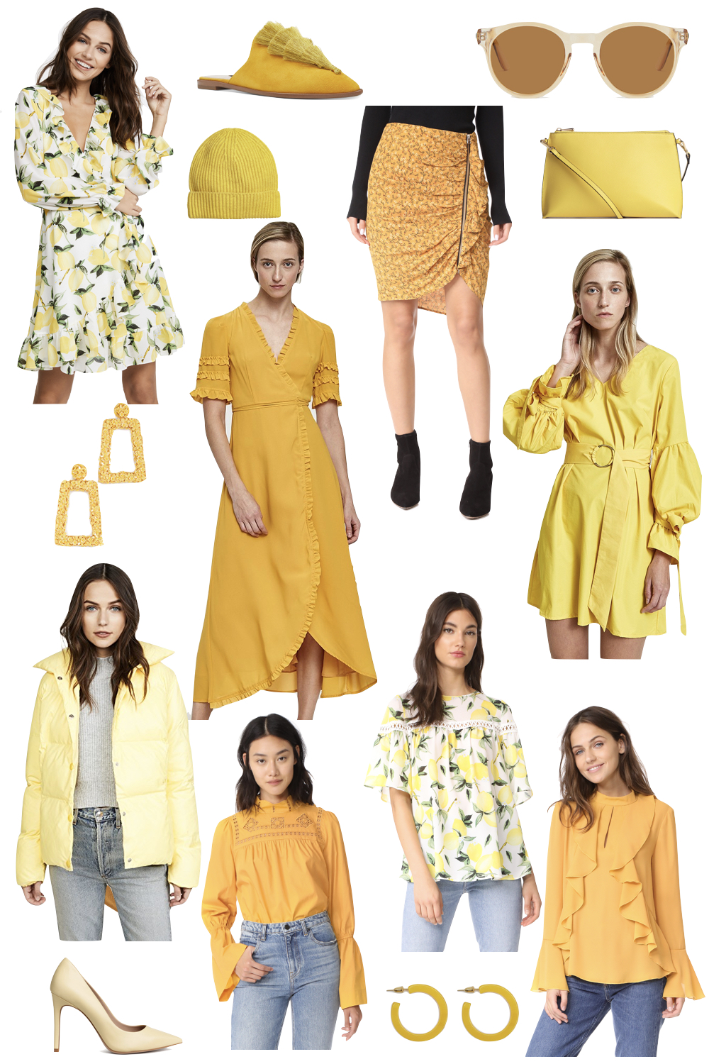 yellow pieces for under $100!