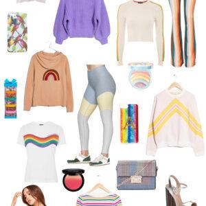 Kelly's Chic Under $100: Rainbow Brights.