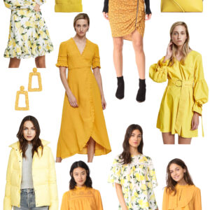 Kelly's Chic Under $100: Yellow.