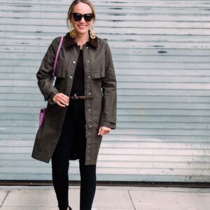J.Crew Field Trench Coat; 2 Ways.