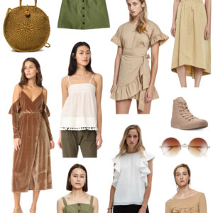 Kelly's Chic Under $100: Earth Tones.