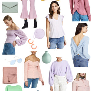 Kelly's Chic Under $100: Pastels.