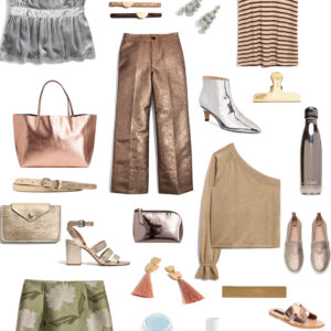 Kelly's Chic Under $100: Metallics.