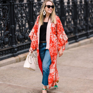 Vintage Kimono // a Year in Brooklyn!