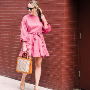 The Best Pink Dress, Getting Out of a Rut, + A New Podcast Ep!