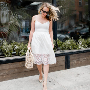 The Best Little White Dress for Summer!