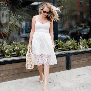 The Best Little White Dress for Summer!