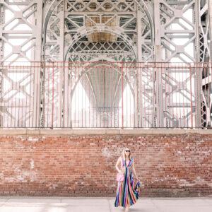 The Greatest Rainbow Dress.