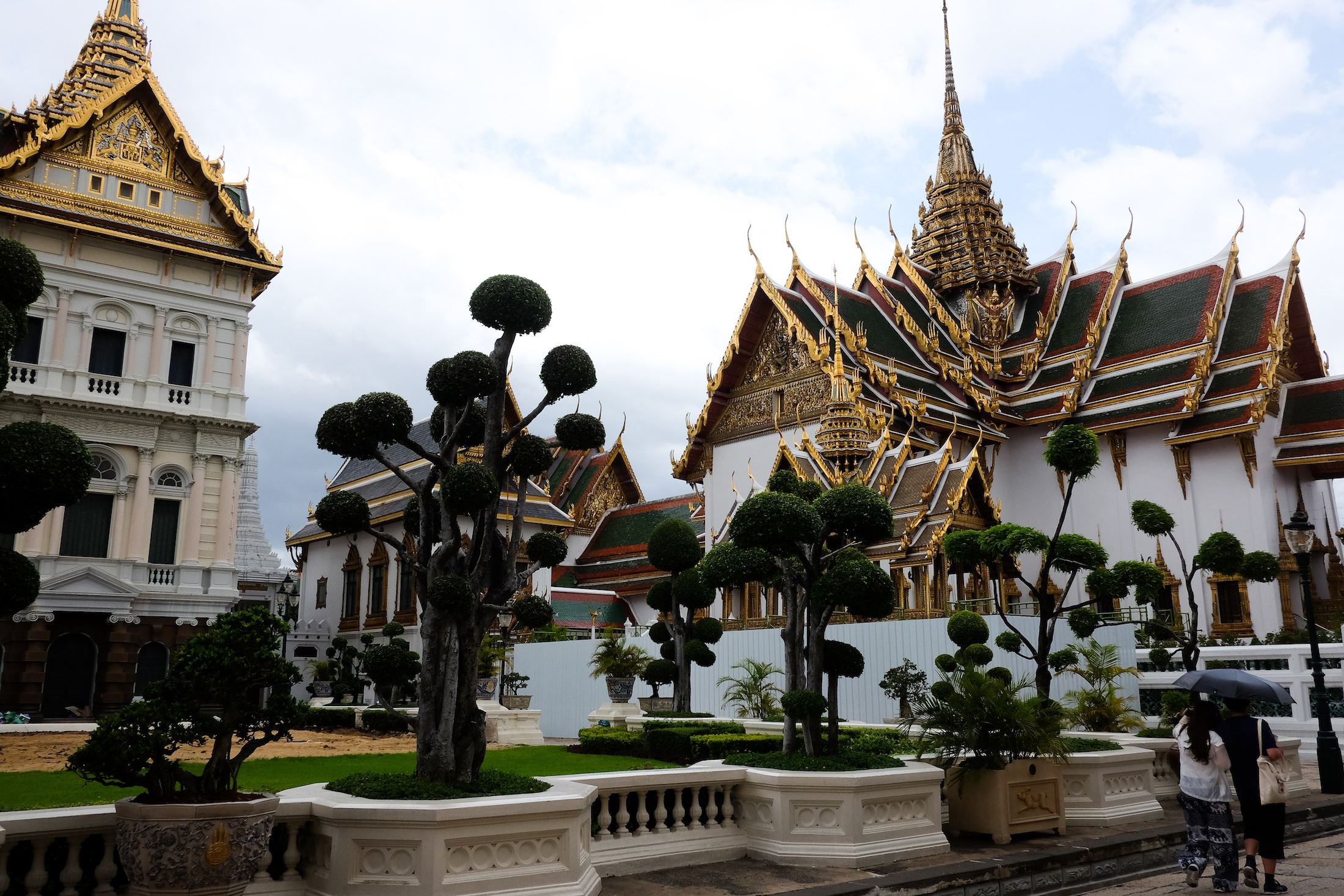 The Grand Palace and Wat Phro